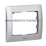 Legrand Galea Life Тертый Алюминий/Brushed Aluminium Рамка 1-я